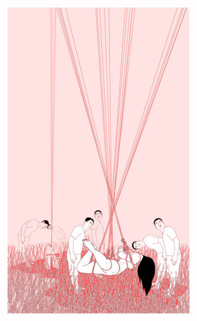 Hsu Che-Yu, 'The woman died in the drain', 2015