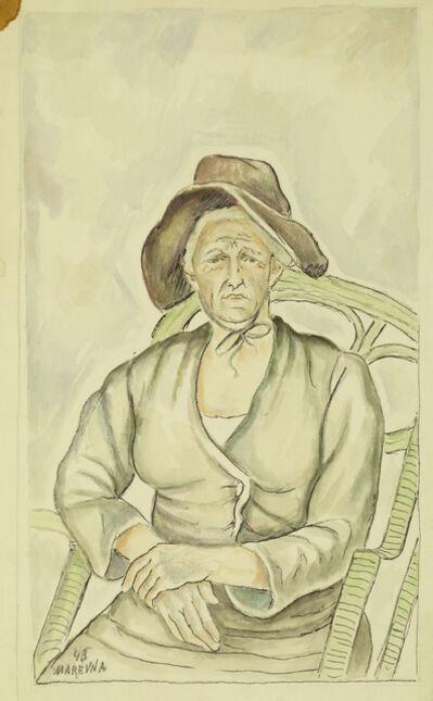 Marie Vorobieff Marevna, 'Old Woman', 1945