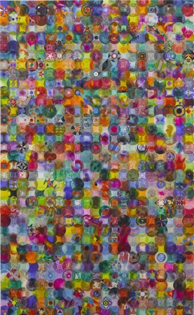 Wu Jian'an 邬建安, '792 Overlapping Color Balls', 2014