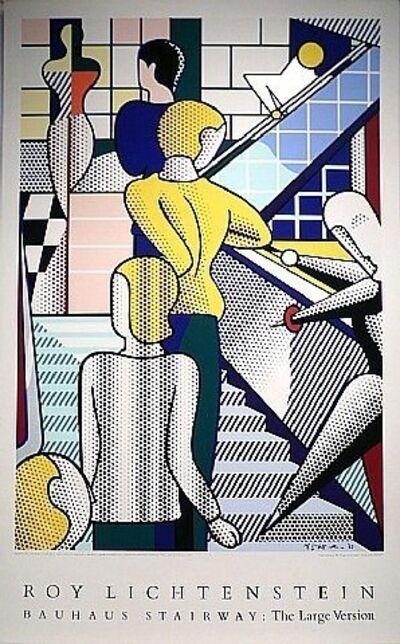 Roy Lichtenstein, 'Bauhaus Stairway', 1989