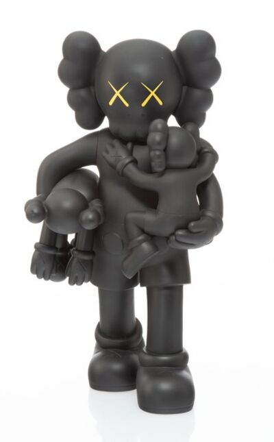 KAWS, 'Clean Slate (Black)', 2018