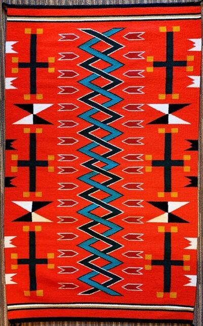 Navajo artist, 'Navajo rug ', 2019