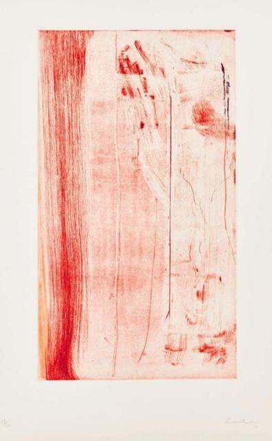 Helen Frankenthaler, 'Pompeii Forte', 1976-1982