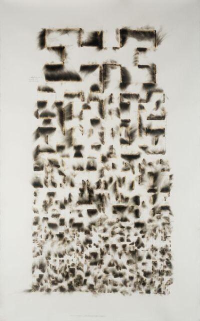 Jitish Kallat, 'Wind Study (Hilbert Curve)', 2017