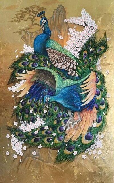 Mirco Pasqualini, 'Peacocks', 2017