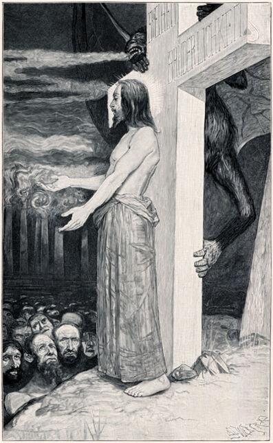 Sascha Schneider, 'Eins Ist Not!', 1894-1895