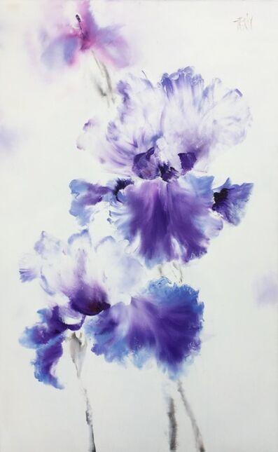 Nguyen Dieu Thuy, 'Irises', 2017