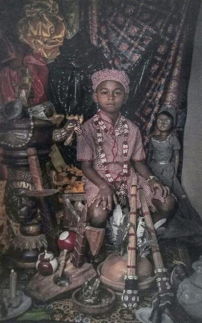 Leslie Loyola, 'Sin título (Serie Niños Yorubas)', 2018