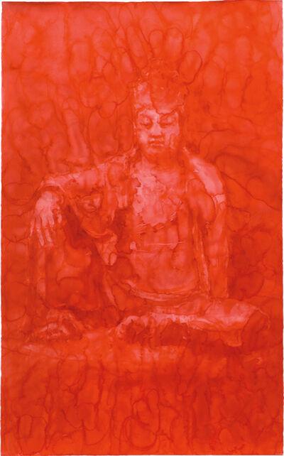 Yan Pei-Ming, 'Red Buddha', 2008