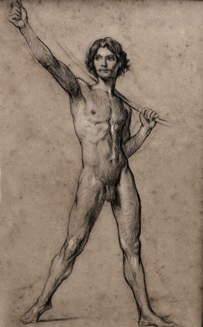 Jules Elie Delaunay, 'Etude pour « Le Triomphe de David ».', ca. 1874