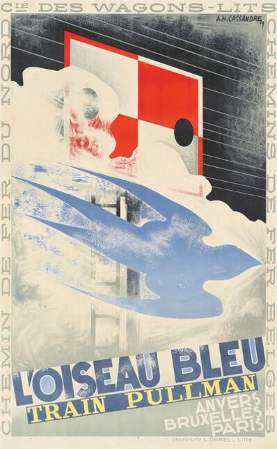 A.M. Cassandre, 'L'Oiseau Bleu', 1929