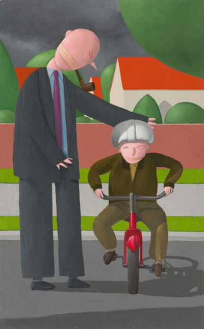 Alan Gerson, 'Red Bike', 2003