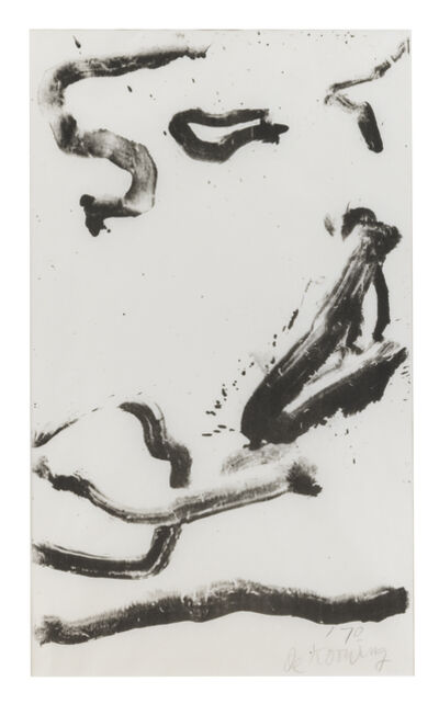 Willem de Kooning, 'Love to Wakako', 1970-1971