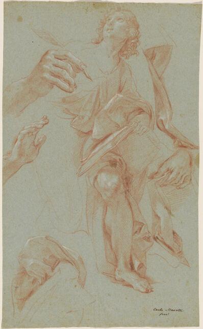 Carlo Maratti, 'Studies of Saint James the Greater', 1686/1687
