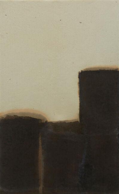 Yun Hyong-keun, 'Burnt Umber & Ultramarine', 1981