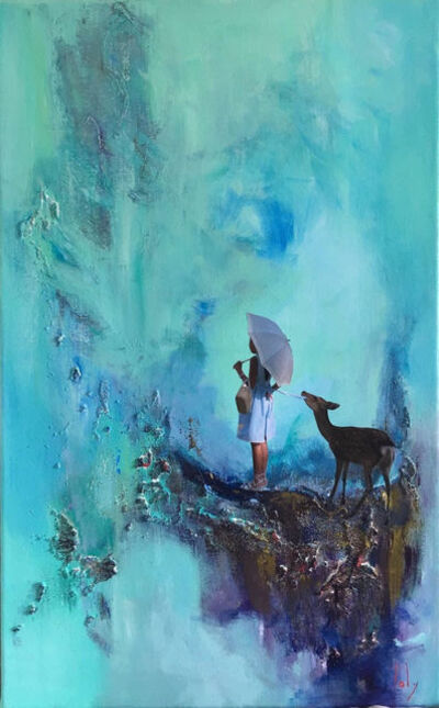Geraldine Laly, 'The Girl with the Deer'