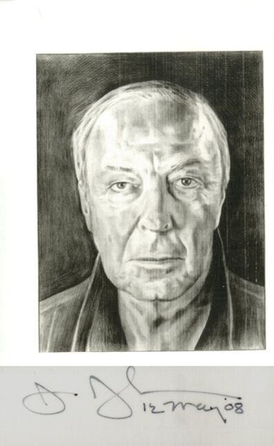 Jasper Johns, 'Hand Signed Portrait', 2008