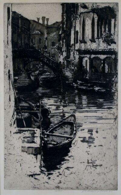 Jan Vondrous, 'Venice', 1914