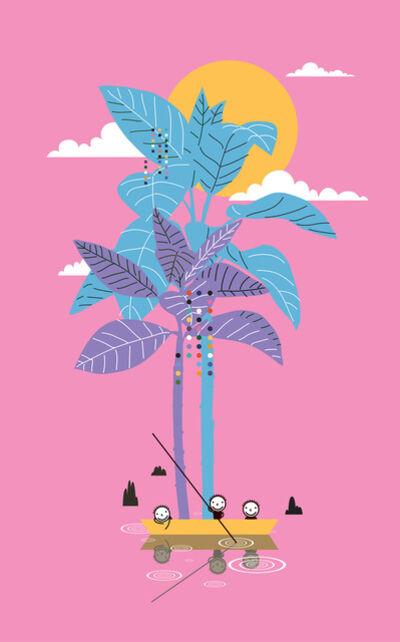 Kwon Kisoo, 'Scenery-Pink', 2019