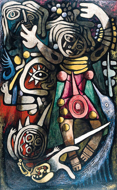 Julio De Diego, 'Ceremonial Dancers', 1948