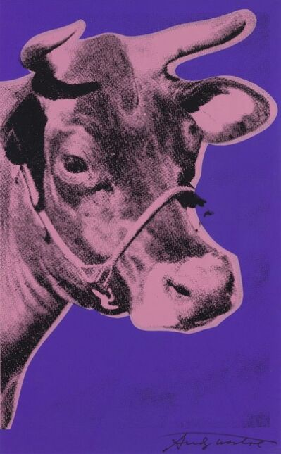 Andy Warhol, 'Cow', 1976