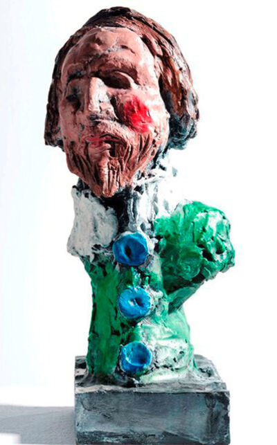 Markus Lüpertz, 'Heinrich Mann + ich = Henry IV', 2015