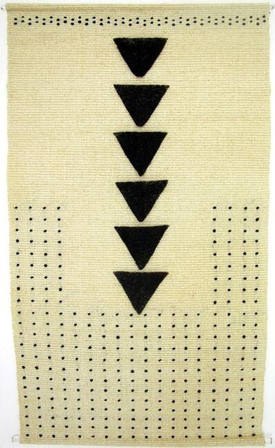 Trine Ellitsgaard, 'Sin título (triángulos)', 2002