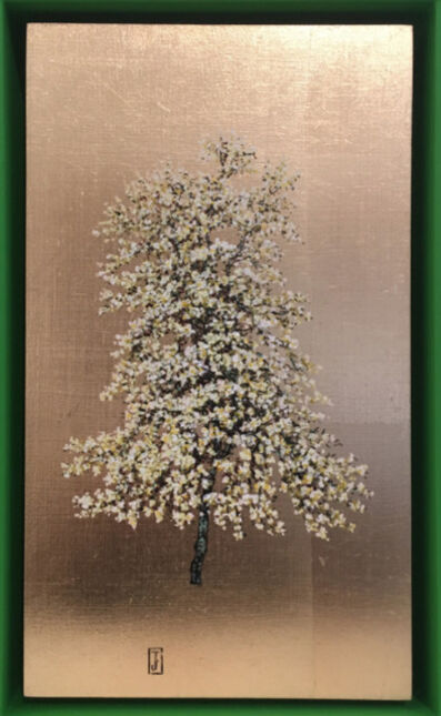 Jack Frame, 'Blooming Collection : Yellow Blossom in Green Frame ', 2018