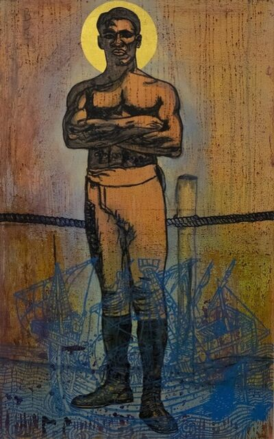 Godfried Donkor, 'St Peter', 2019