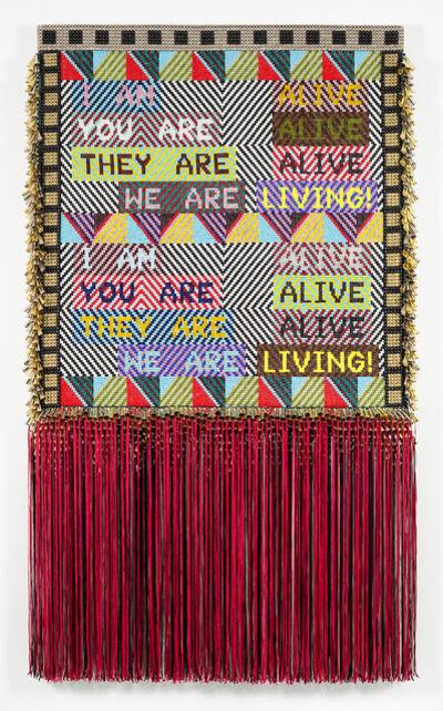 Jeffrey Gibson, 'ALIVE!', 2016