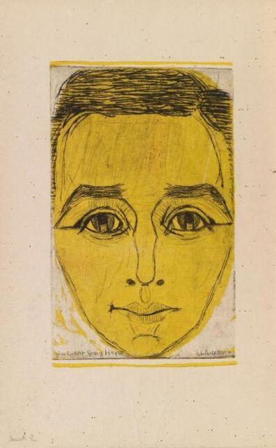 """Ernst Ludwig Kirchner, 'Zu """"Umbra Vitae, Nachgelassene Gedichte"""" von Georg Heym', 1924"""