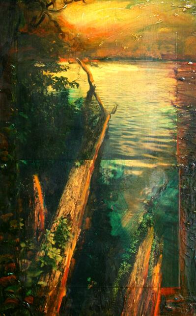 David Bierk, 'Olana Study 12', 1992