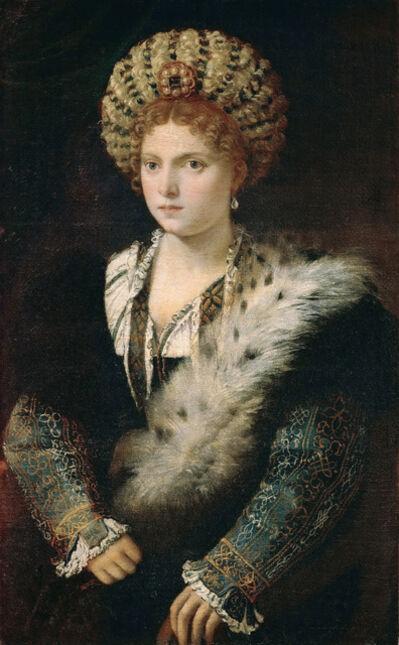 Titian, 'Isabella d'Este', 1534-1536