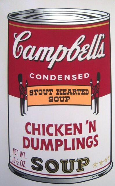Andy Warhol, 'Chicken N' Dumplings Soup', 1968