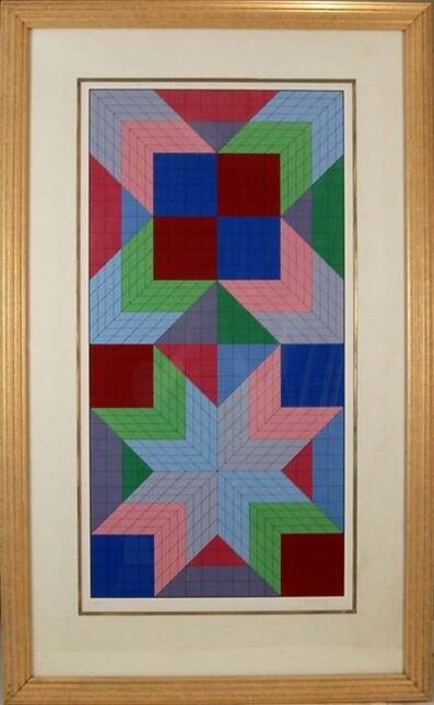 Victor Vasarely, '  Doors', 1982