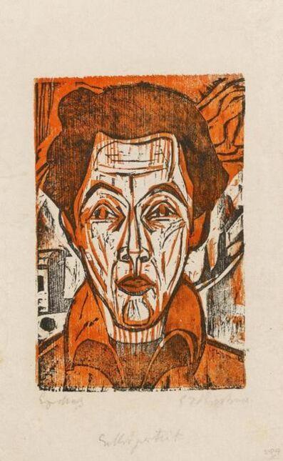 Ernst Ludwig Kirchner, 'Selbstporträt', 1926