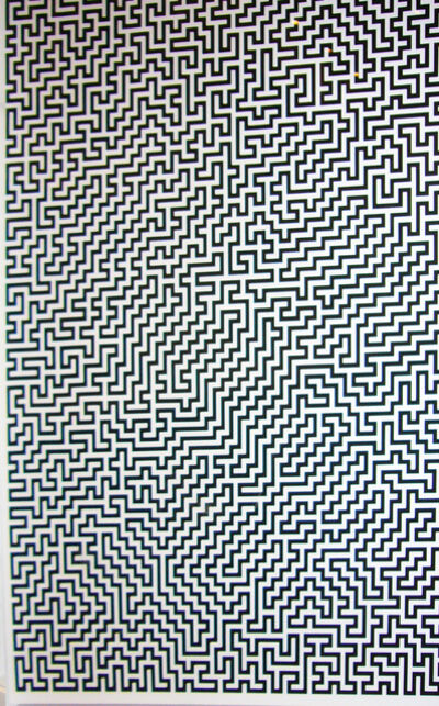 Ignacio Uriarte, 'Single-Line Labyrinths 3', 2007