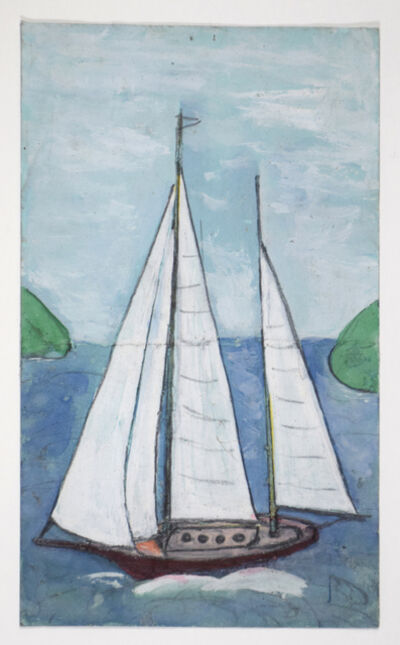 Frank Walter, 'White Yacht', 1926 -2006