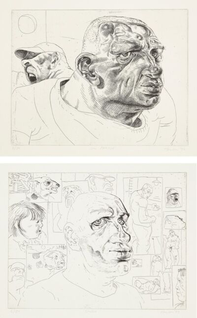 Peter Howson, 'Studio & On Parade', 1992