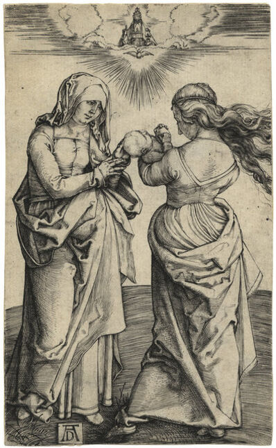 Albrecht Dürer, 'Madonna and Child with St. Anne', 1500