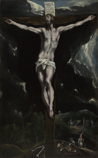 El Greco, 'Christ on the Cross', 1600-1610
