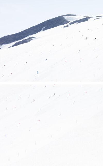 Walter Niedermayr, 'Les Deux Alpes', 2013