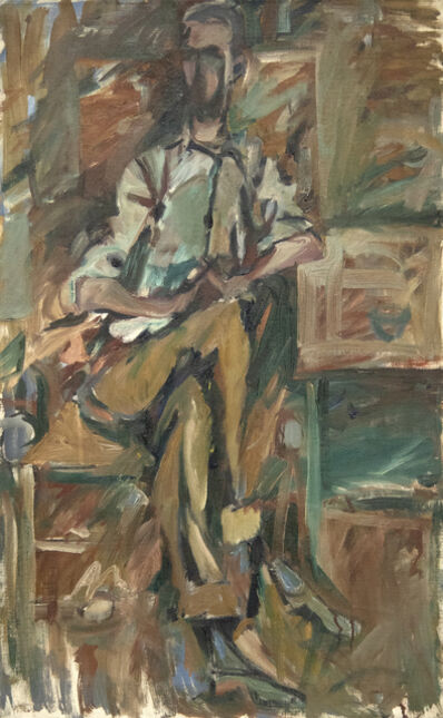 Elaine de Kooning, 'Bill Brown', 1954