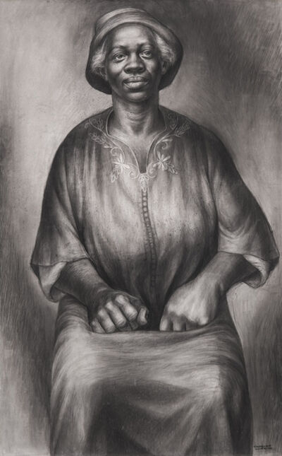 Charles White, 'I Been Rebuked & I Been Scorned (Solid as a Rock)', 1954