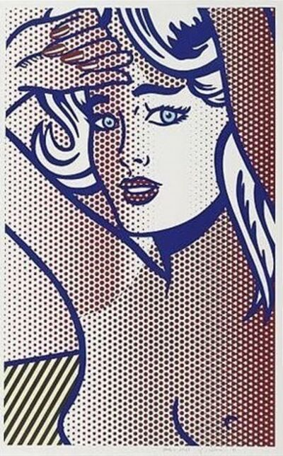 Roy Lichtenstein, 'Nude with Blue Hair, State I', 1994