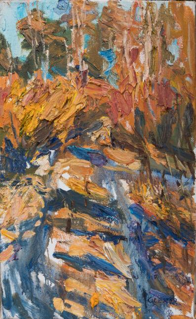 Ulrich Gleiter, 'Sunset Light (Willows in Blossom)', 2020