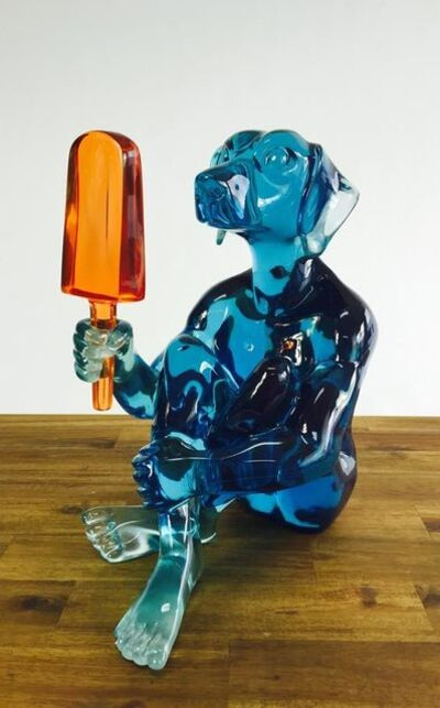 Gillie and Marc Schattner, 'Dogman screams for ice cream'