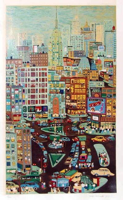 Ralph Fasanella, 'Empire State', 1974