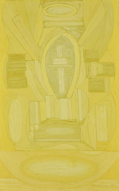 Serge Charchoune, 'Composition Inspirée par le Credo de la Messe en C Mineur de Bach', Executed 1959