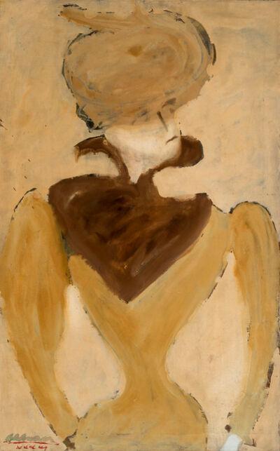 John Graham, 'Hildebrand (Portrait of a Woman in Hat)', 1941